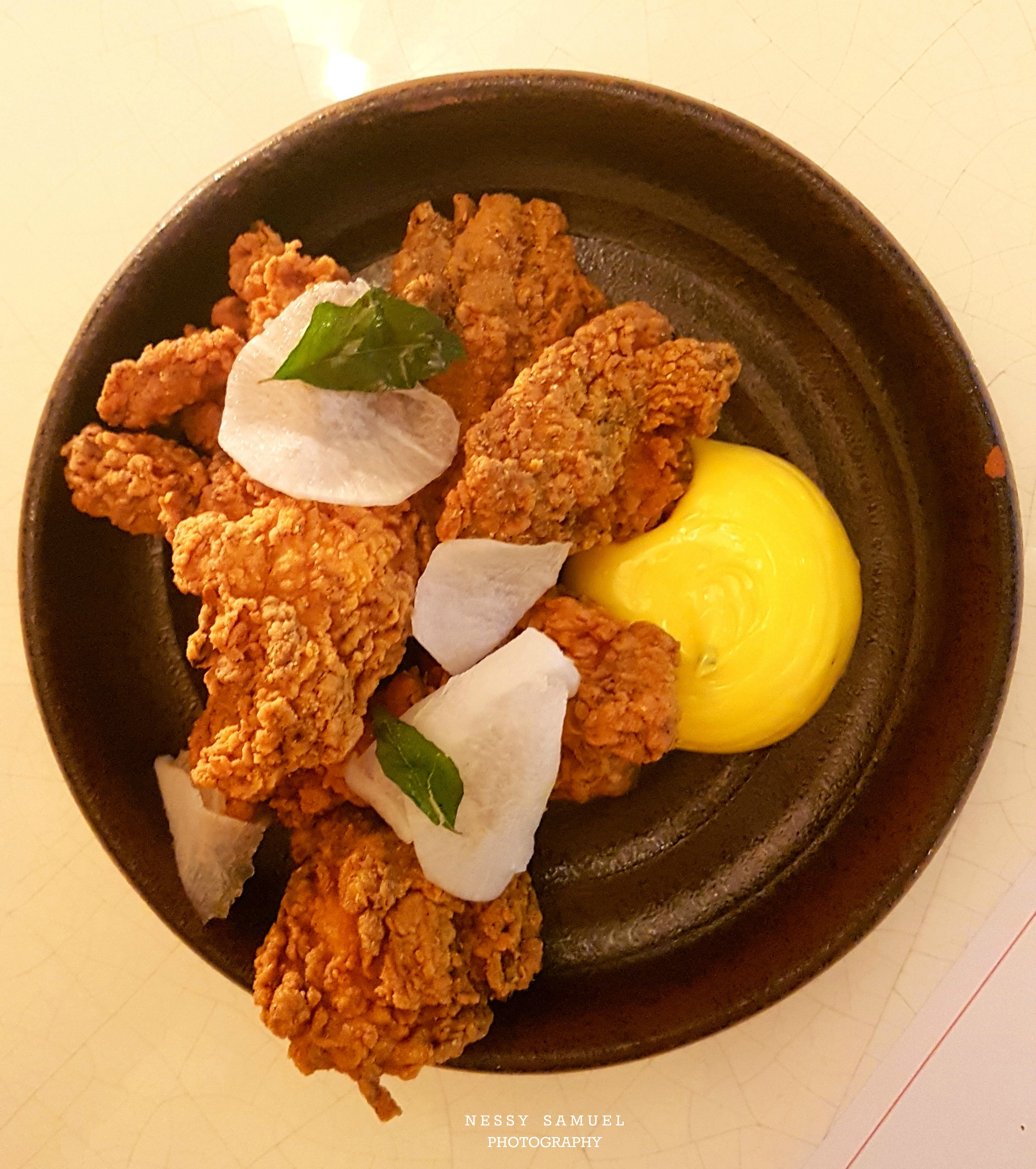 keralan-fried-chicken-curry-leaf-mayonnaise-pickled-mouli ...